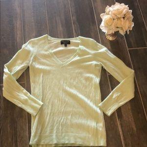 Banana Republic Mint Green Sweater Medium